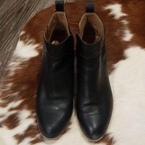 Franco sarto short black booties